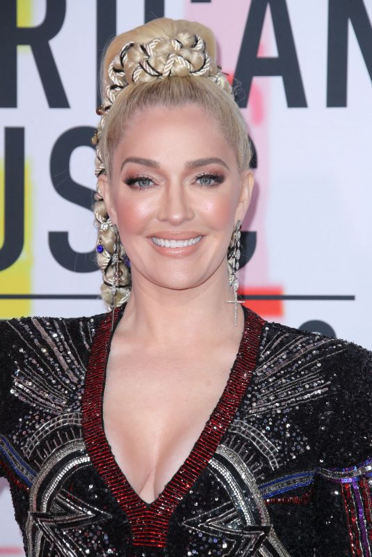 ERIKA JAYNE at American Music Awards in Los Angeles 10/09/2018
