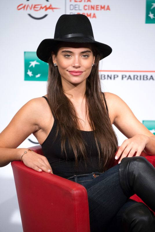 EVA DE DOMINCI at Sangre Blanca Photocall at Rome Film Festival 10/19/2018