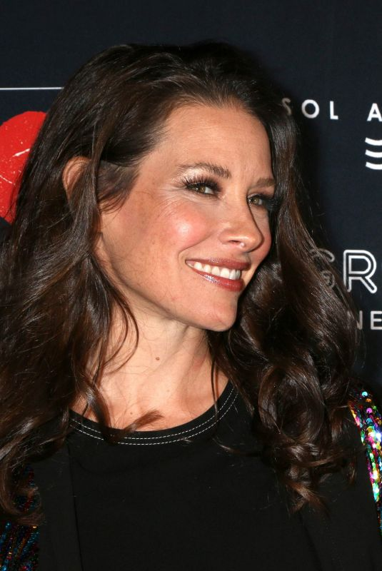 EVANGELINE LILLY at GO Campaign Gala in Los Angeles 10/20/2018