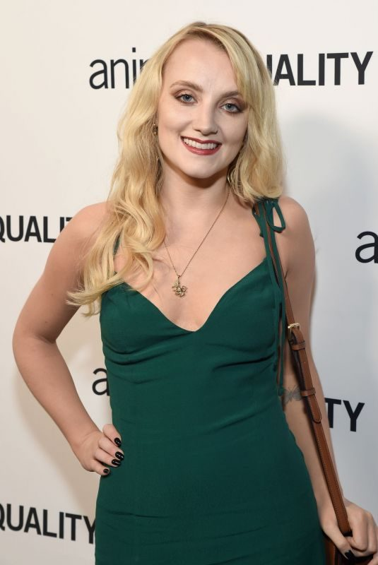 EVANNA LYNCH at Animal Equality's Inspiring Global Action Los Angeles Gala 10/27/2018