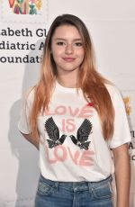 FATIMA PTACEK at Elizabeth Glaser Pediatric Aids Foundation Anniversary in Culver City 10/28/2018