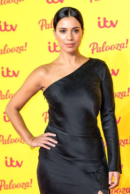 FIONA WADE at ITV Palooza in London 10/16/2018