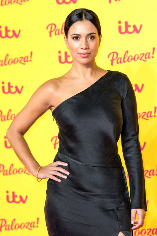 FIONA WADE at ITV Palooza in London 10/16/2018