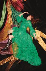 FLORENCE WELCH in Elle Magazine, UK November 2018