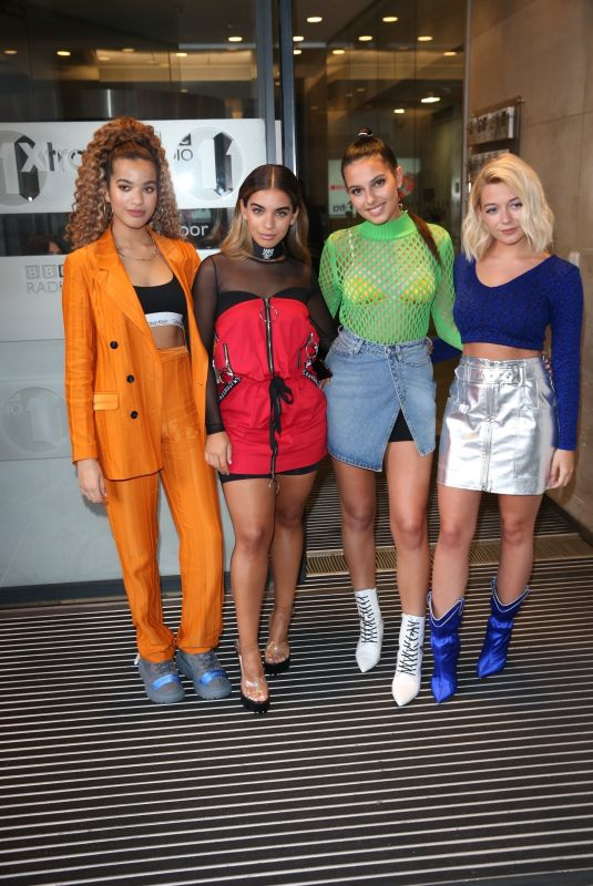 FOUR OF DIAMONDS Leaves BBC Studios in London 10/09/2018
