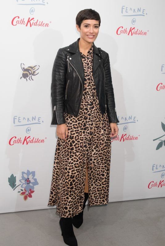 FRANKIE BRIDGE at Fearne x Cath Kidston at Vinyl Factory in London 10/25/2018