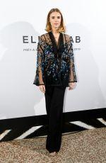 GAIA WEISS at Elie Saab Fashion Show in Paris 09/29/2018
