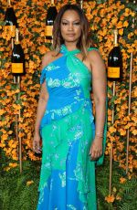 GARCELLE BEAUVAIS at 2018 Veuve Clicquot Polo Classic in Los Angeles 10/06/2018