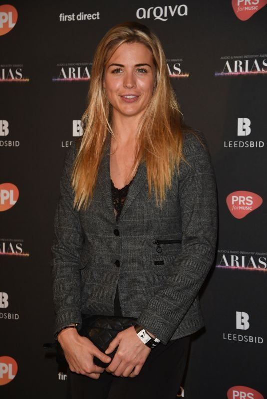 GEMMA ATKINSON at Audio and Radio Industry Awards in Leeds 10/18/2018