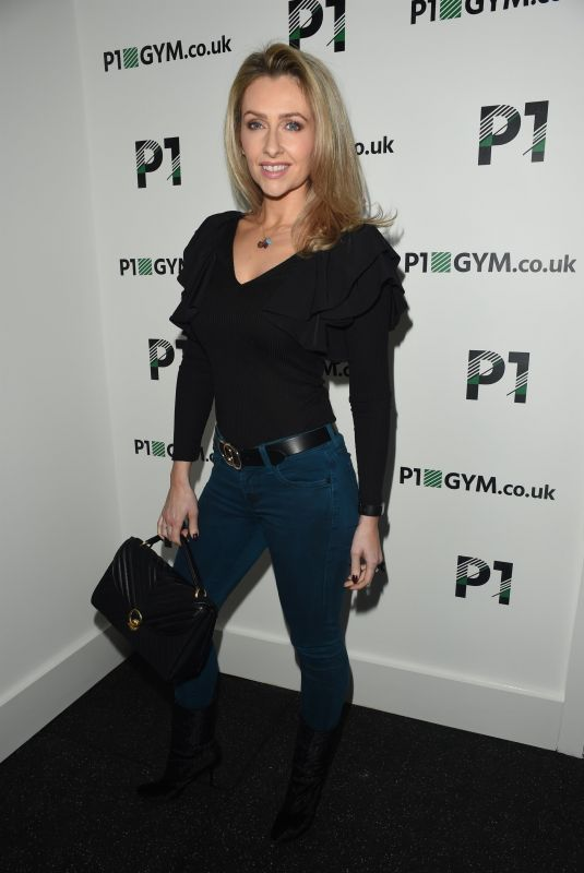 GEMMA MERNA at P1 Gym Open Evening in Manchester 10/16/2018