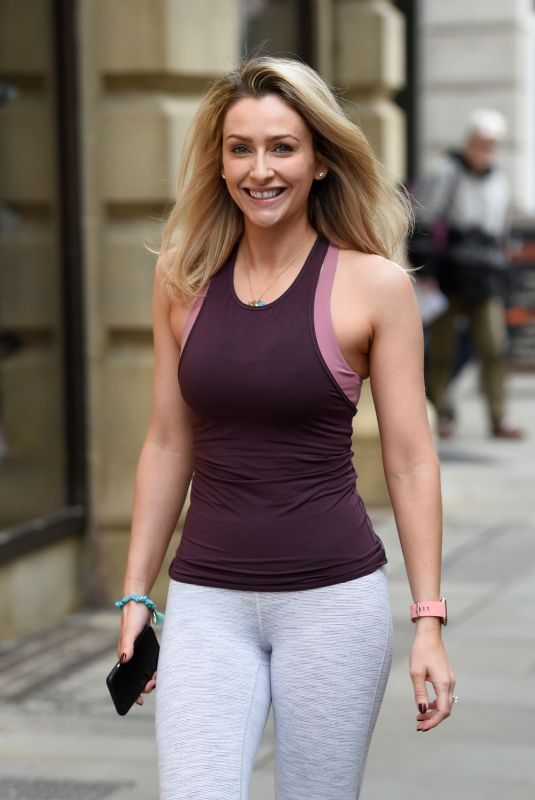 GEMMA MERNA at Yoga Class at Lululemon in Manchester 10/27/2018