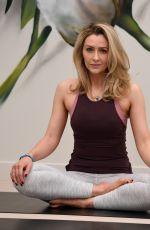 GEMMA MERNA at Yoga Class at Lululemon in Manchester 10/27/2018