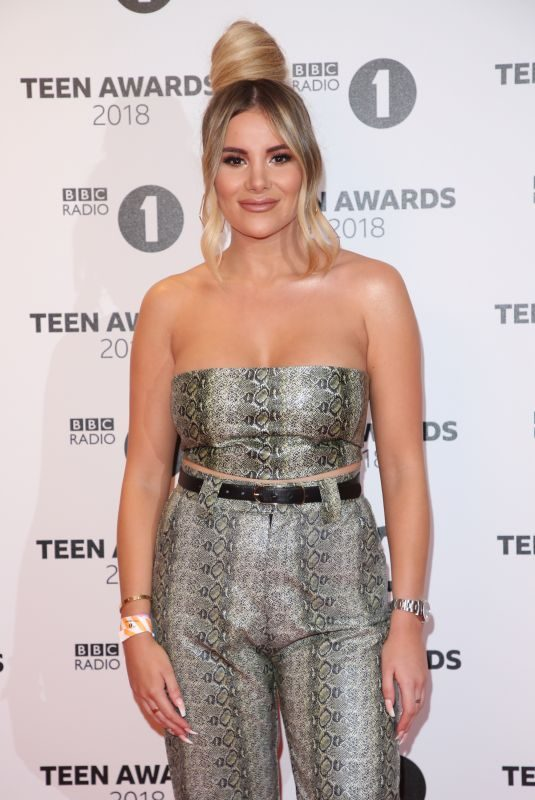 GEORGIA KOUSOULOU at BBC Radio 1 Teen Awards in London 10/21/2018