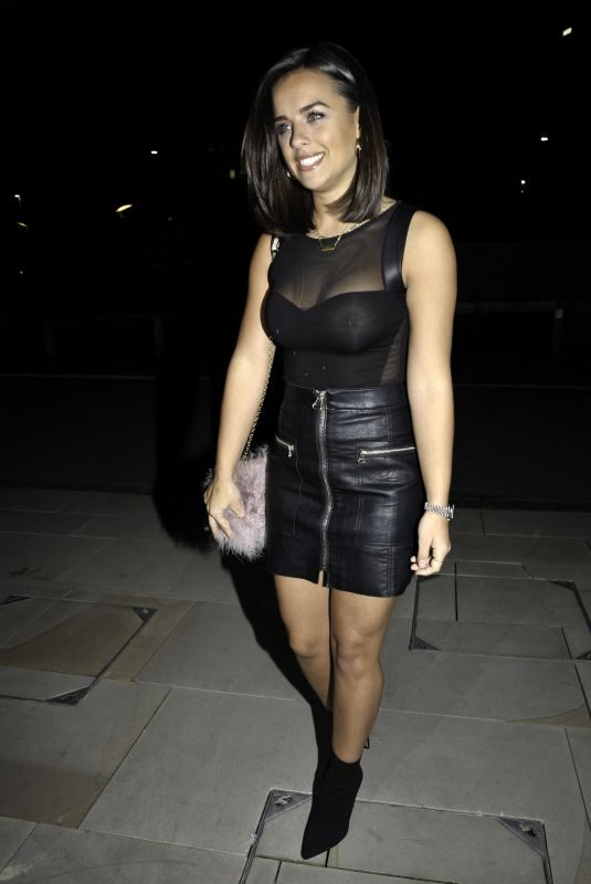 GEORGIA MAY FOOTE at Menagerie Bar and Restaurant in Manchester 09/30/2018