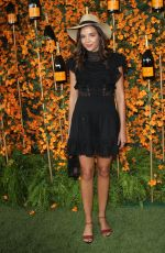 GEORGIE FLORES at 2018 Veuve Clicquot Polo Classic in Los Angeles 10/06/2018