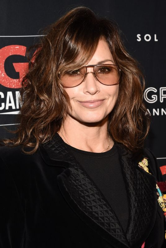GINA GERSHON at GO Campaign Gala in Los Angeles 10/20/2018