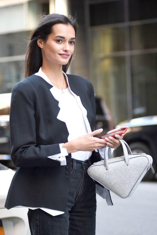 GIZELE OLIVEIRA Arrives at Victoria's Secret Headquarters in New York 10/31/2018