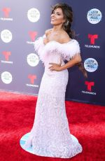 GLORIA TREVI at Latin American Music Awards 2018 in Los Angeles 10/25/2018