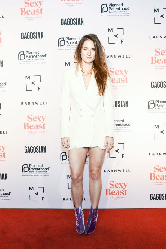 GRACE GUMMER at Sexy Beast Gala: A Benefit for Planned Parenthood LA in Los Angeles 10/20/2018