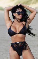 GRACE J TEAL in Bikini at a Beach in Spain 09/30/2018