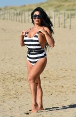 GRACE J TEAL in Swimsuit at a Beach in Spain 10/04/2018