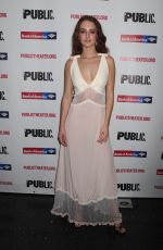 GRACE VAN PATTEN at Mother of the Maid Opening Night in New York 10/17/2018