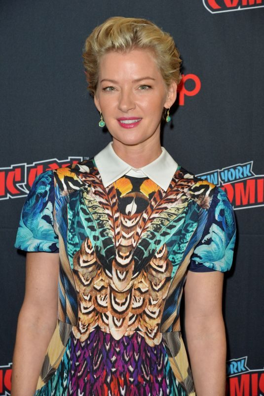 GRETCHEN MOL at Nightflyers Screening at New York Comic-con 10/05/2018