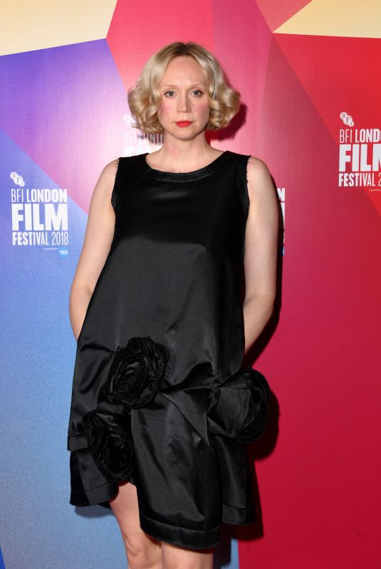 GWENDOLINE CHRISTIE at In Fabric Premiere at BFI London Film Festival 10/18/2018