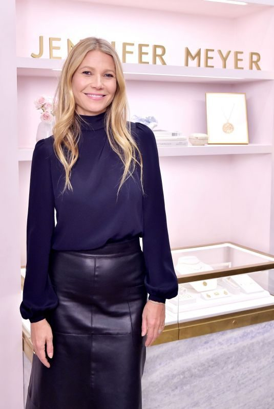GWYNETH PALTROW at Jennifer Meyer Celebrates First Store Opening in Palisades Village 10/17/2018