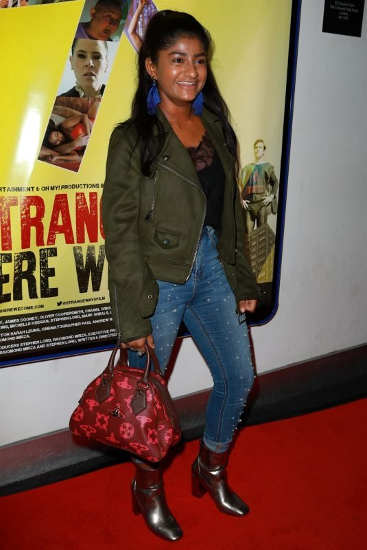 HAIESHA MISTRY at Strangeways Premiere in Manchester 10/04/2018