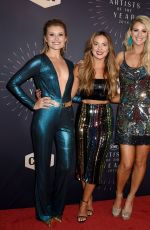HANNAH MULHOLLAND, NAOMI COOKE, JENNIFER WAYNE at CMT Artists of the Year 2018 in Nashville 10/17/2018