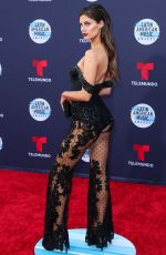HANNAH STOCKING at Latin American Music Awards 2018 in Los Angeles 10/25/2018