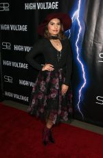 HANNON K at High Voltage Premiere in Los Angeles 10/16/2018
