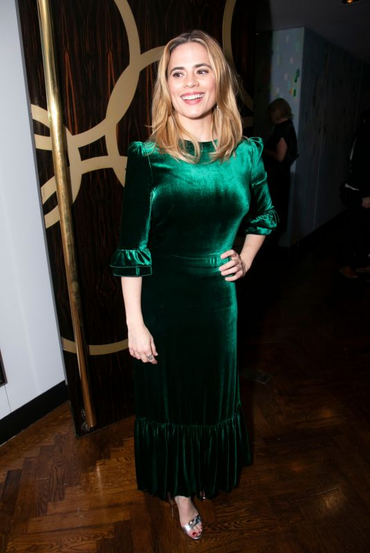HAYLEY ATWELL at Measure for Measure Party in London 10/11/2018