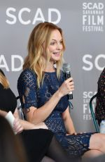 HEATHER GRAHAM at a Press Conference at Scad Savannah Film Festival 10/29/2018