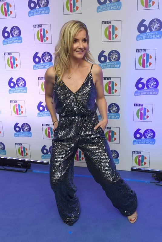 HELEN SKELTON at Blue Peter's Big Birthday 60 Years Celebration in London 10/16/2018
