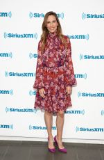 HILARY SWANK at SiriusXM Entertainment Weekly Radio Spotlight with Hilary Swank in New York 10/12/2018