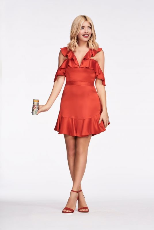 HOLLY WILLOGHBY for Diet Coke's Because i Can Campaign 2018