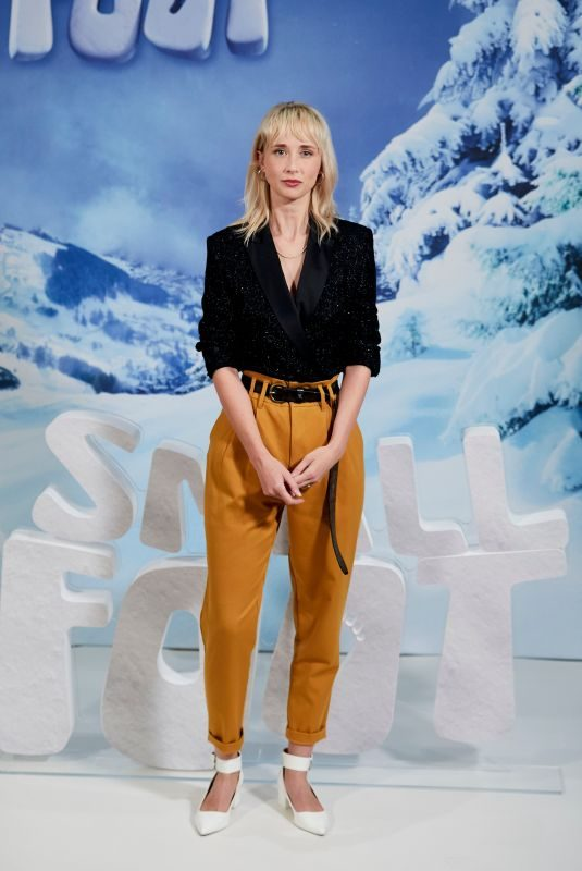 INGRID GARCIA-JONSSON at Small Soot Photocall in Madrid 10/04/2018