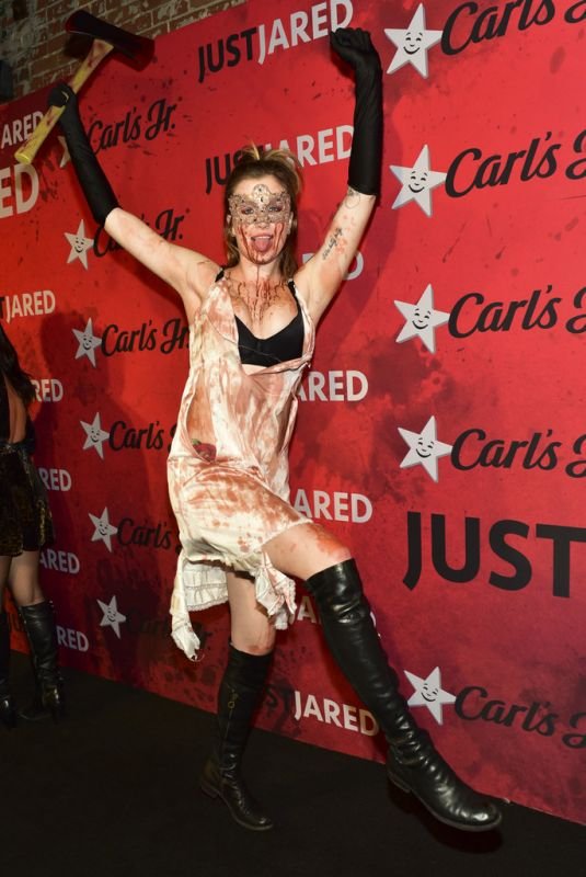 IRELAND BALDWIN at Just Jared Halloween Party in West Hollywood 01/27/2018