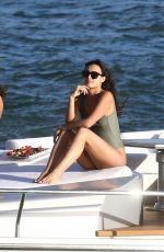 ISABELA RANGEL in Bikini at a Yacht in Miami 10/28/2018