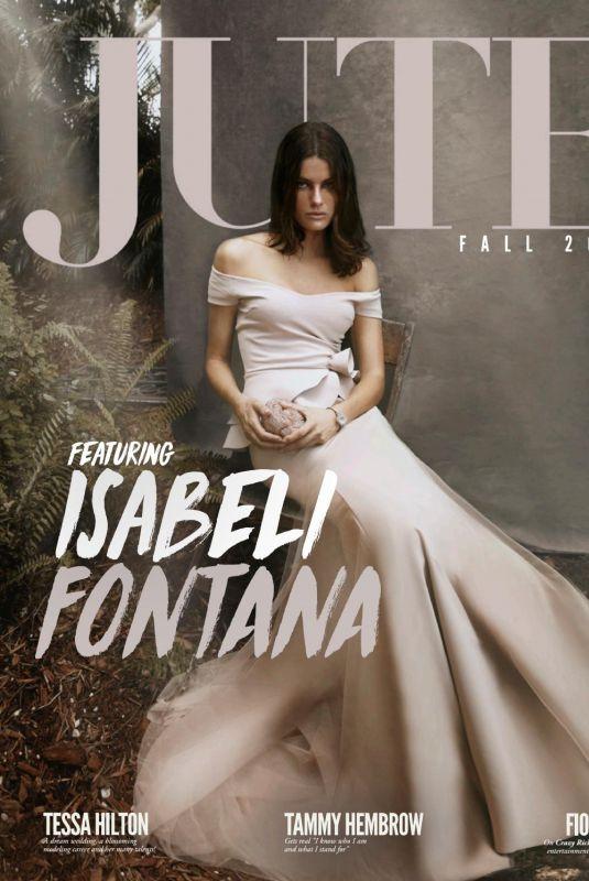ISABELI FONTANA in Jute Magazine, 2018 Fall Issue