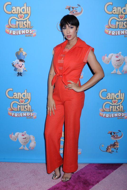 JACKIE CRUZ at Candy Crush Friends Saga Global Launch in New York 10/11/2018