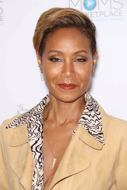 JADA PINKETT SMITH at a Mamarazzi Event in New York 10/23/2018