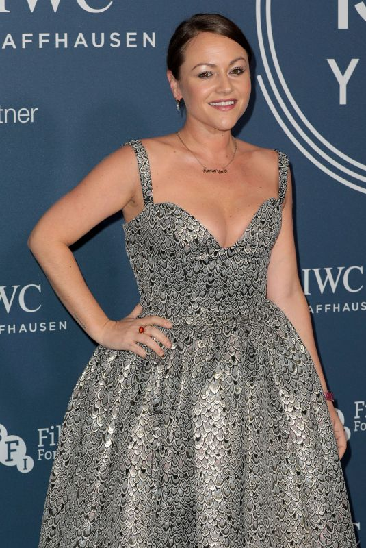 JAIME WINSTONE at IWC Schaffhausen Gala Dinner in London 10/09//2018