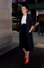 JAIMIE ALEXANDER Arrives at Today Show in New York 10/11/2018