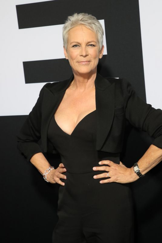 JAMIE LEE CURTIS at Halloween Premiere in Hollywood 10/17/2018