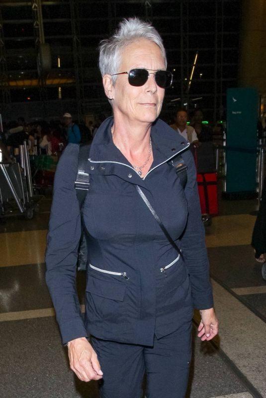 JAMIE LEE CURTIS at LAX Airport in Los Angeles 10/21/2018