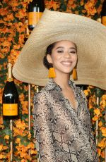 JASMIN SAVOY at 2018 Veuve Clicquot Polo Classic in Los Angeles 10/06/2018