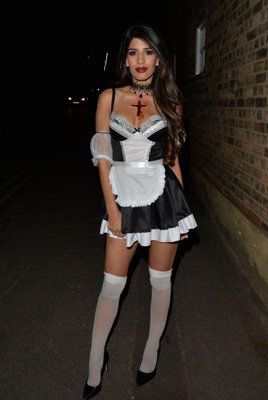JASMIN WALIA at a Halloween Party in London 10/27/2018